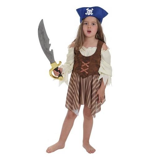 Disfraz Pirata Rayas Infantil