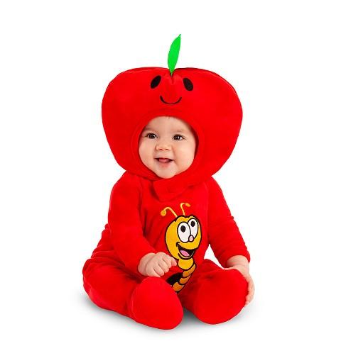 Disfraz de Manzana para Bebés