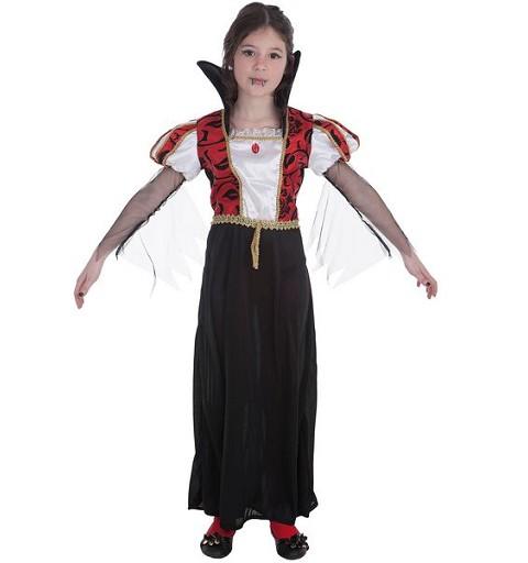 Disfraz Vampira Gótica Infantil