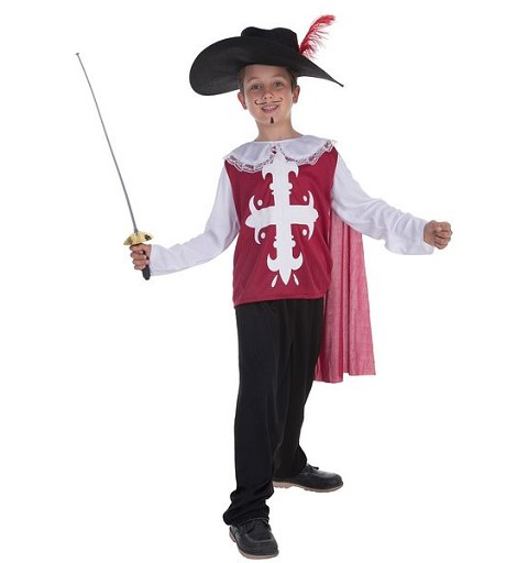 Disfraz Mosquetero Toledo Infantil