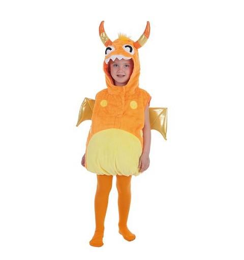 Disfraz Monster Naranja 5/ 6 Años Infantil