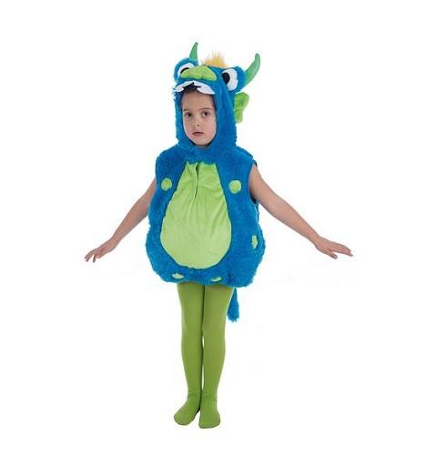 Disfraz Monster Azul 5/ 6 Años Infantil