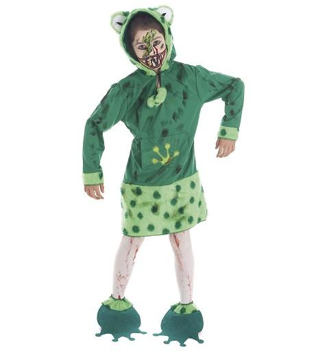 Disfraz de Rana Zombie...