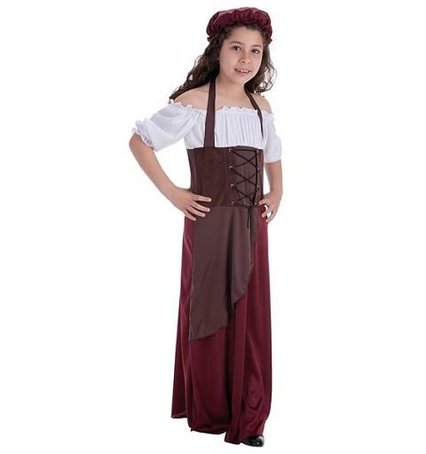 Disfraz Tabernera Infantil