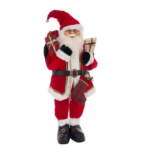 Papá Noel tamaño real...