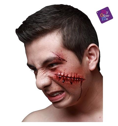 Cicatriz Zombie de Latex...