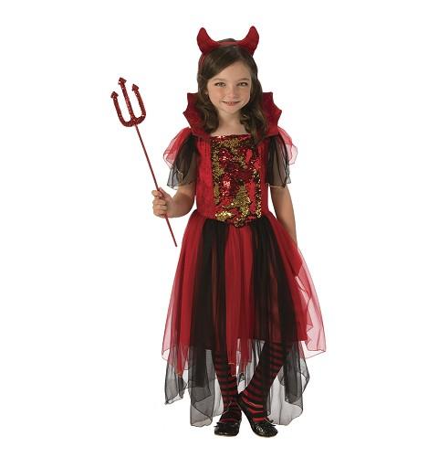 Disfraz de Diablilla Lujo...