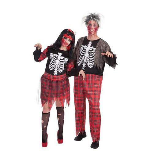 Disfraz Zombie Colegiala Adulto