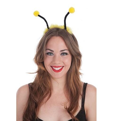 Diadema Antenas Amarillo