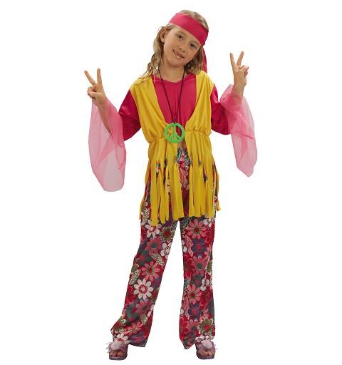 Disfraz Chica Hippy Infantil