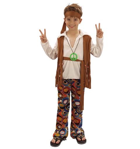 Disfraz Chico Hippy Infantil
