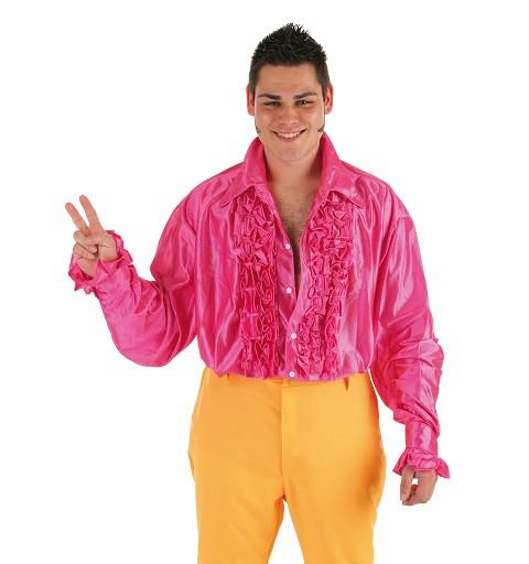Disfraz Camisa Dance Fucsia...