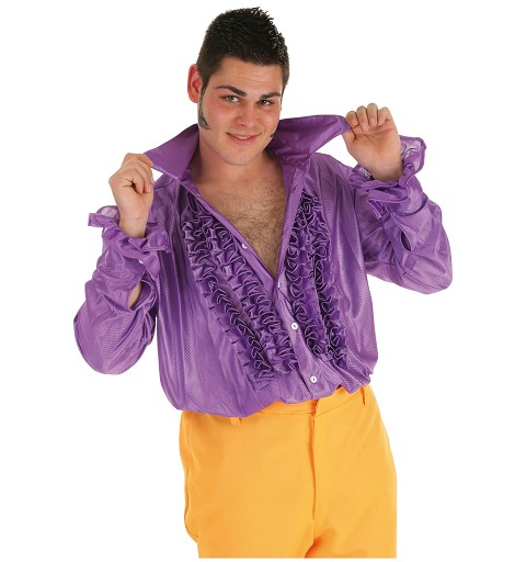 Disfraz  Camisa Dance Lila...