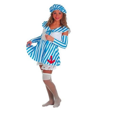 Disfraz Adulto Bañista Mujer con Medias