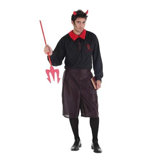 Disfraz Colegial Diabolico Adulto