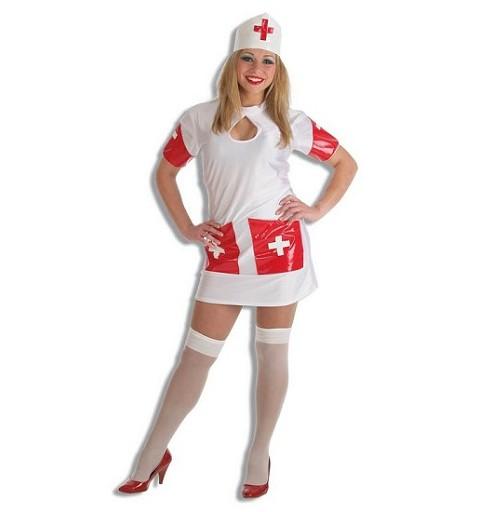 Disfraz Enfermera Md Adulto