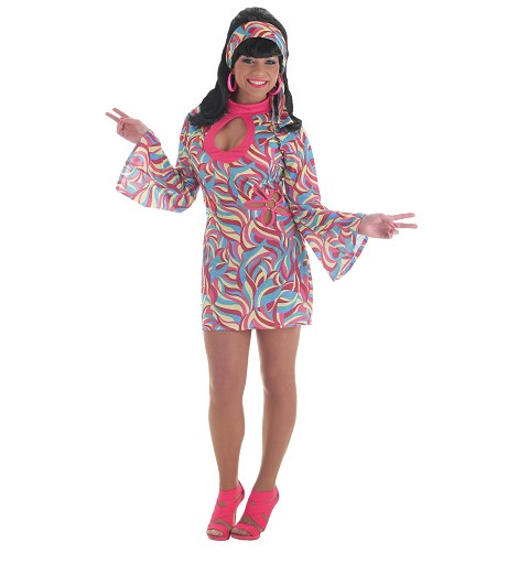 Disfraz Hippie Sexy Adulto