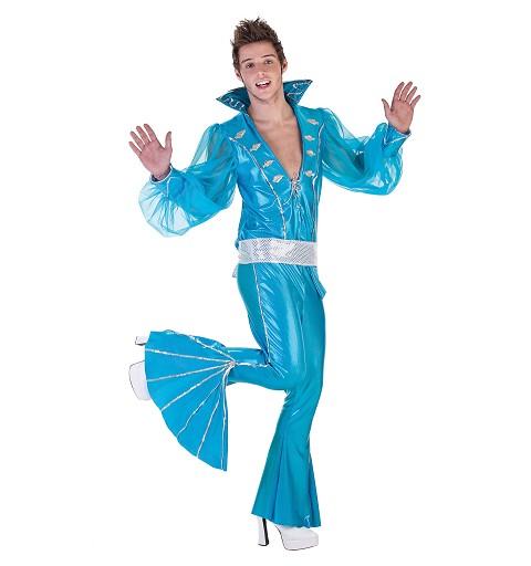 Disfraz Musical Azul Hombre Adulto