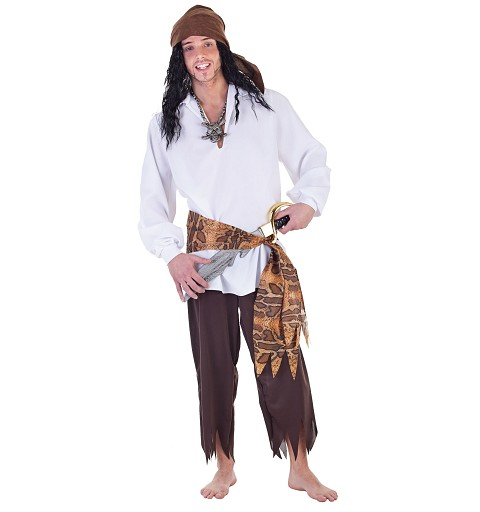 Disfraz Adulto Pirata Snake