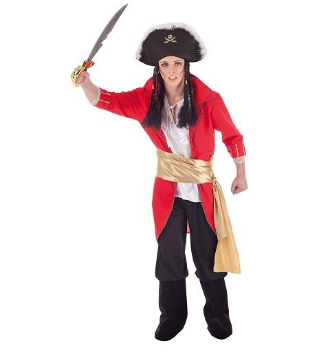 Disfraz Almirante Rojo Adulto