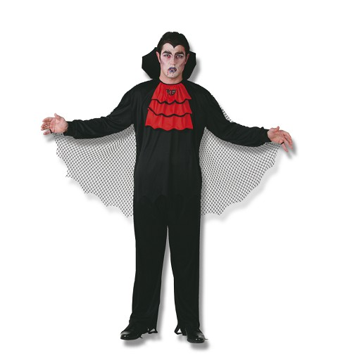 Disfraz Adulto Vampiro Rojo