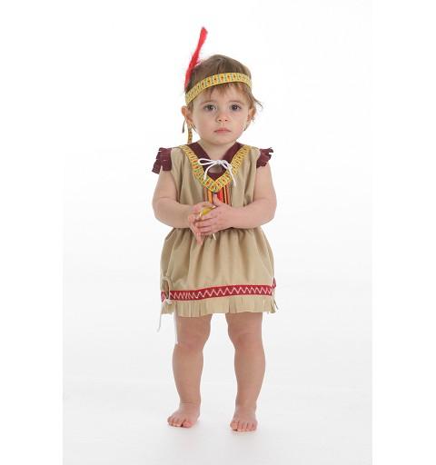 Disfraz Bebe India Sioux