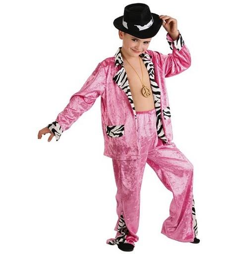 Disfraz de Cantante Pink Infantil