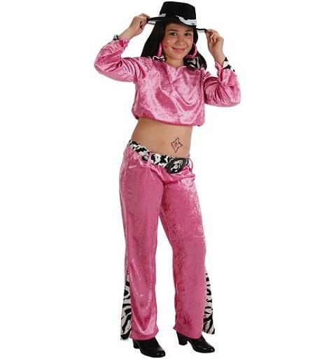Disfraz de Cantante Pink Niña Infantil