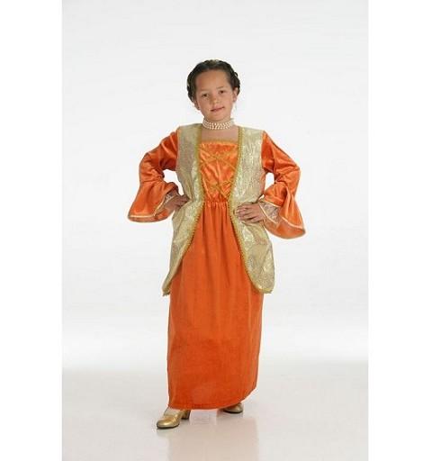 Disfraz de Duquesa Naranja Infantil