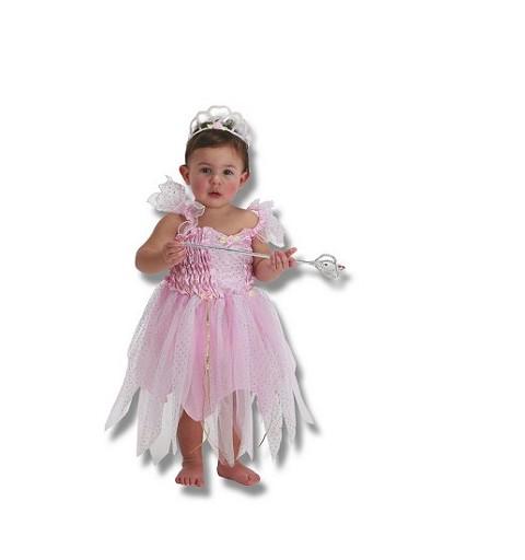 Disfraz de Princesa Rosa Bebe (0-12 meses)