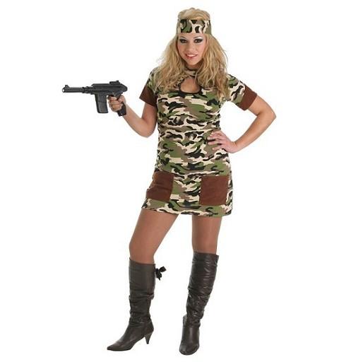 Disfraz de Soldado Mujer