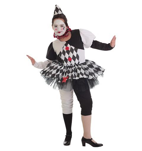 Disfraz Pierrotina Infantil