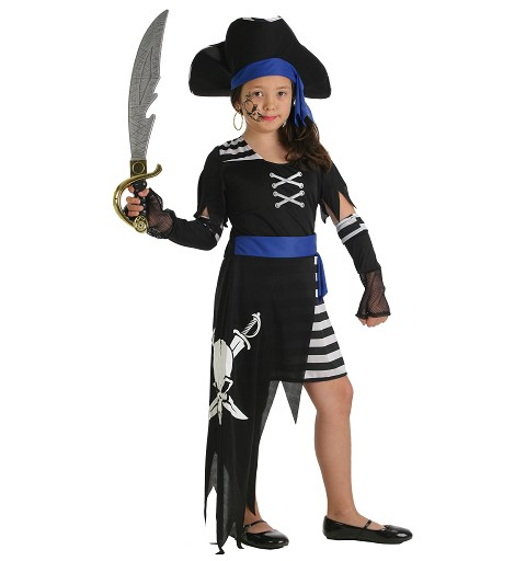 Disfraz Pirata 7 Mares Niña Infantil