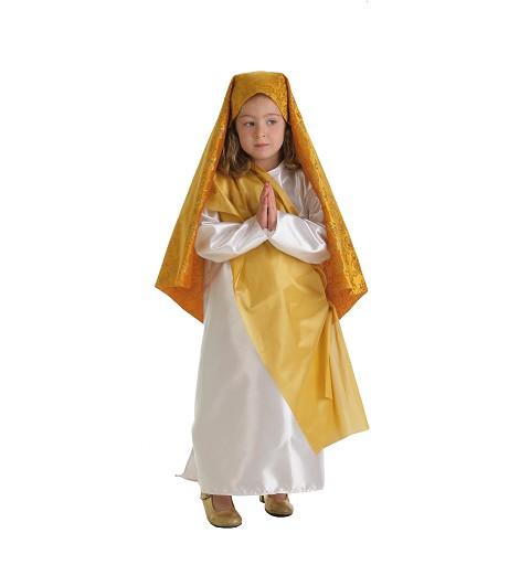 Disfraz Virgen Oro Infantil