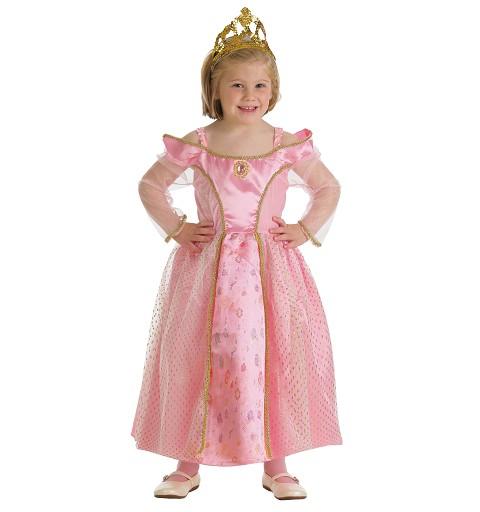 Disfraz Princesa Med. Rosa Infantil