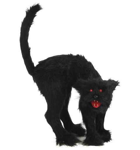Gato Ojos con Luz 30 Cm.