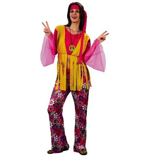 Disfraz Hippy Mujer Adulto