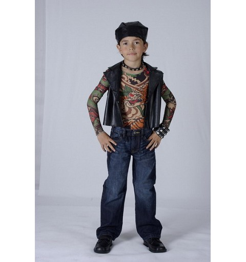 Chico Rokero Tatuajes Infantil