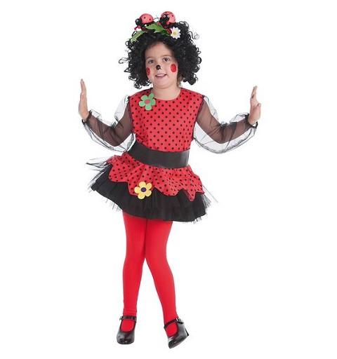 Disfraz Mariquita Falda...