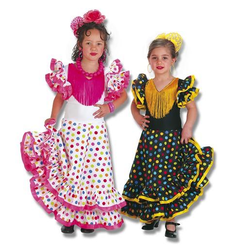 Disfraz Sevillana Infantil