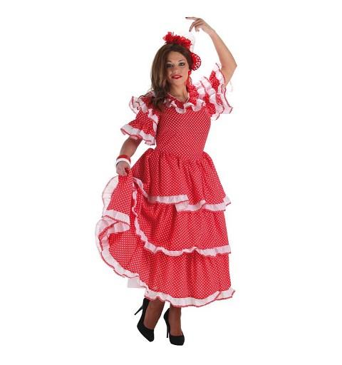 Disfraz Sevillana Rocio Mujer Adulto