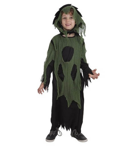 Disfraz Tunica Gasa Verde Infantil