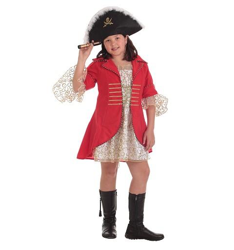 Disfraz Almirante Roja Infantil