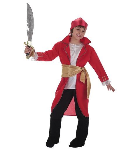 Disfraz Almirante Rojo Infantil