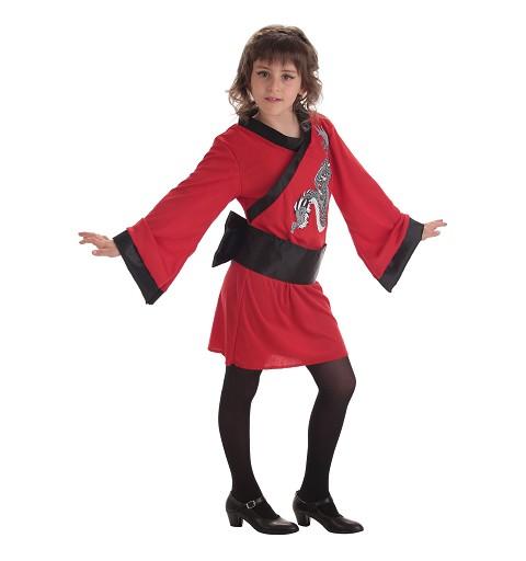 Disfraz Geisha Dragon Infantil
