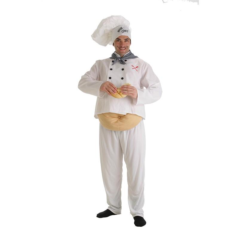 Disfraz cocinero adulto midisfraz for Articulos para chef