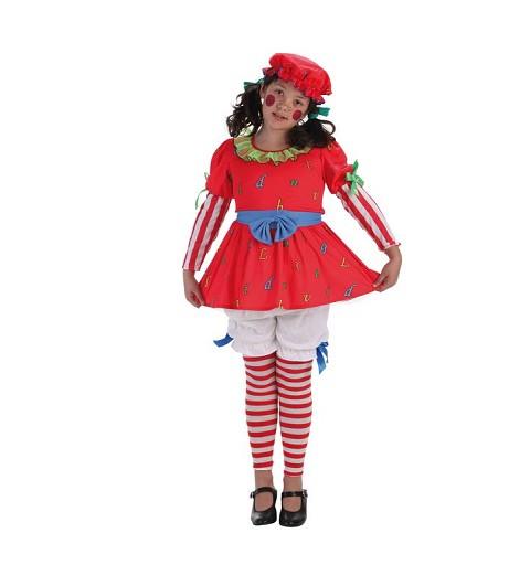 Disfraz Muñeca Cuerda Infantil