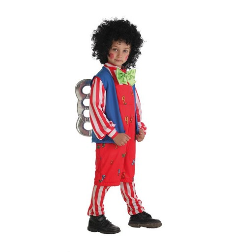 Disfraz Muñeco Cuerda Infantil