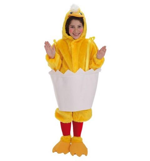 Disfraz Pollito Cascara Infantil