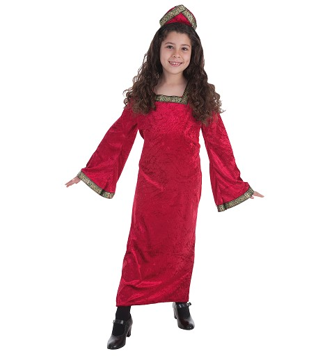 Disfraz Princesa Medieval Niña